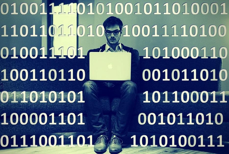 """Chico buscando """"Big Data qué es"""""""