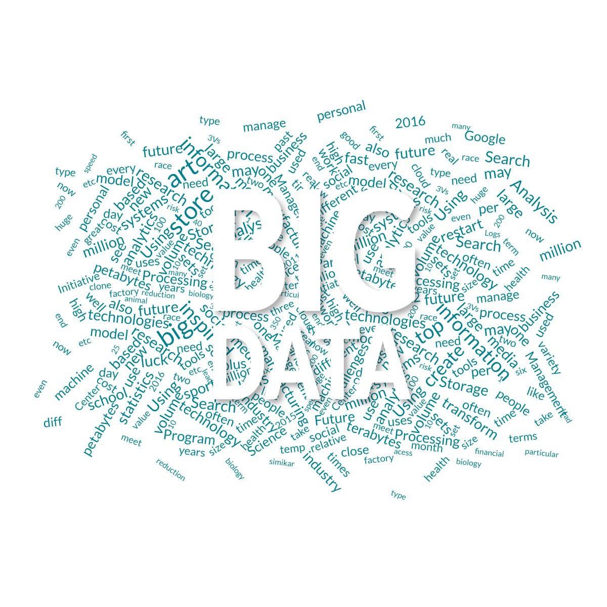 Significado de Bigdata con Tag Cloud
