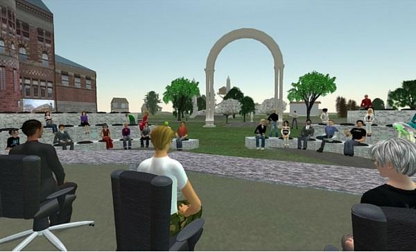 Imagen de Second Life como Realidad Virtual en los negocios